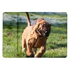 Bloodhound Running Samsung Galaxy Tab 10.1  P7500 Flip Case