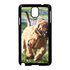 Bloodhound Running Samsung Galaxy Note 3 Neo Hardshell Case (Black)