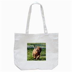 Bloodhound Running Tote Bag (White)