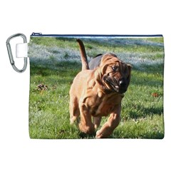 Bloodhound Running Canvas Cosmetic Bag (XXL)