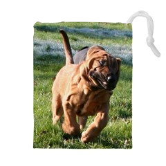Bloodhound Running Drawstring Pouches (Extra Large)