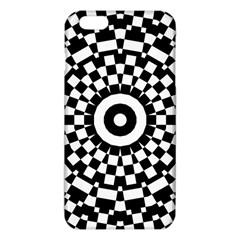 Checkered Black White Tile Mosaic Pattern iPhone 6 Plus/6S Plus TPU Case