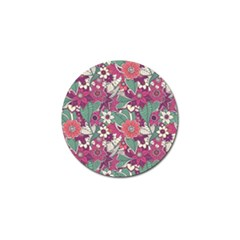 Seamless Floral Pattern Background Golf Ball Marker (10 pack)
