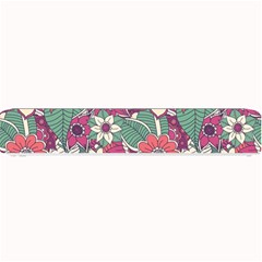 Seamless Floral Pattern Background Small Bar Mats