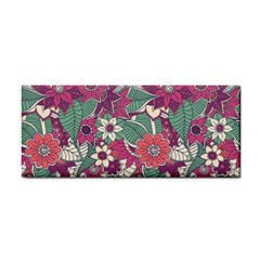 Seamless Floral Pattern Background Cosmetic Storage Cases
