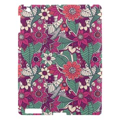 Seamless Floral Pattern Background Apple iPad 3/4 Hardshell Case