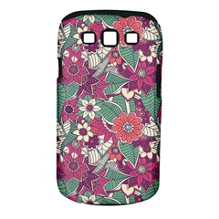 Seamless Floral Pattern Background Samsung Galaxy S III Classic Hardshell Case (PC+Silicone)