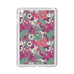 Seamless Floral Pattern Background iPad Mini 2 Enamel Coated Cases