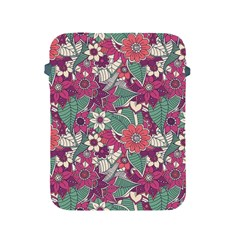 Seamless Floral Pattern Background Apple iPad 2/3/4 Protective Soft Cases