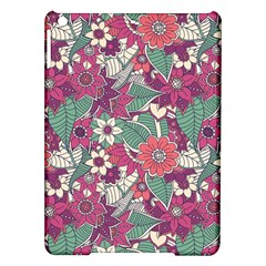 Seamless Floral Pattern Background iPad Air Hardshell Cases