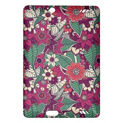 Seamless Floral Pattern Background Amazon Kindle Fire HD (2013) Hardshell Case