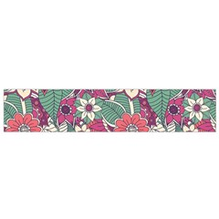 Seamless Floral Pattern Background Flano Scarf (Small)