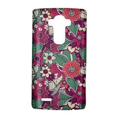 Seamless Floral Pattern Background LG G4 Hardshell Case