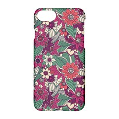 Seamless Floral Pattern Background Apple Iphone 7 Hardshell Case