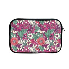 Seamless Floral Pattern Background Apple Macbook Pro 13  Zipper Case