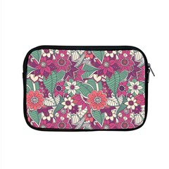 Seamless Floral Pattern Background Apple Macbook Pro 15  Zipper Case