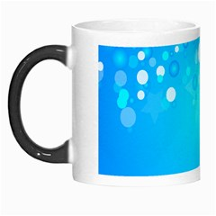 Blue Dot Star Morph Mugs