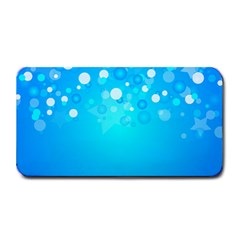 Blue Dot Star Medium Bar Mats