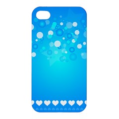 Blue Dot Star Apple iPhone 4/4S Hardshell Case