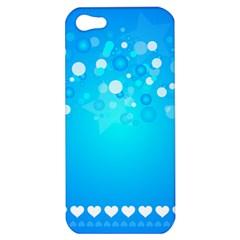 Blue Dot Star Apple iPhone 5 Hardshell Case