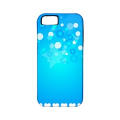 Blue Dot Star Apple iPhone 5 Classic Hardshell Case (PC+Silicone)