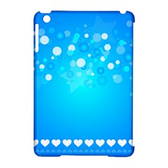 Blue Dot Star Apple iPad Mini Hardshell Case (Compatible with Smart Cover)