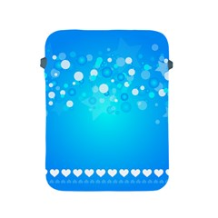 Blue Dot Star Apple iPad 2/3/4 Protective Soft Cases