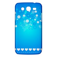Blue Dot Star Samsung Galaxy Mega 5 8 I9152 Hardshell Case