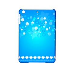 Blue Dot Star iPad Mini 2 Hardshell Cases