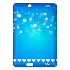 Blue Dot Star Amazon Kindle Fire HD (2013) Hardshell Case