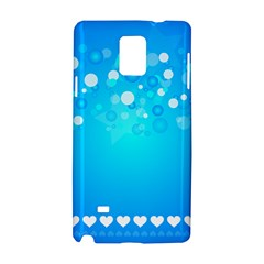 Blue Dot Star Samsung Galaxy Note 4 Hardshell Case