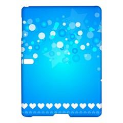 Blue Dot Star Samsung Galaxy Tab S (10.5 ) Hardshell Case