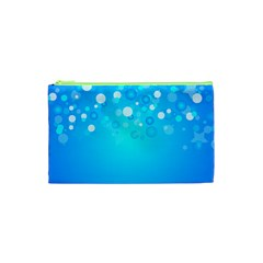 Blue Dot Star Cosmetic Bag (XS)