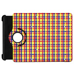Yellow Blue Red Lines Color Pattern Kindle Fire HD 7