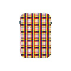 Yellow Blue Red Lines Color Pattern Apple iPad Mini Protective Soft Cases