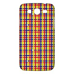 Yellow Blue Red Lines Color Pattern Samsung Galaxy Mega 5.8 I9152 Hardshell Case