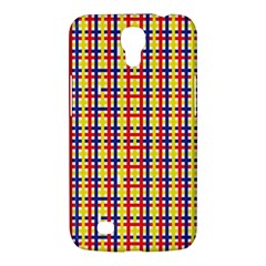 Yellow Blue Red Lines Color Pattern Samsung Galaxy Mega 6 3  I9200 Hardshell Case