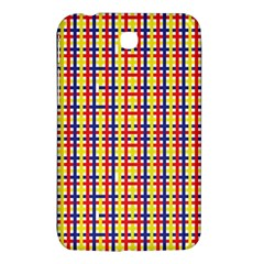 Yellow Blue Red Lines Color Pattern Samsung Galaxy Tab 3 (7 ) P3200 Hardshell Case