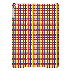 Yellow Blue Red Lines Color Pattern iPad Air Hardshell Cases