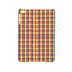 Yellow Blue Red Lines Color Pattern Ipad Mini 2 Hardshell Cases