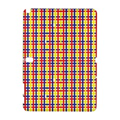 Yellow Blue Red Lines Color Pattern Galaxy Note 1