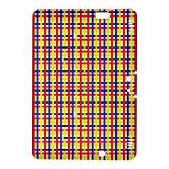 Yellow Blue Red Lines Color Pattern Kindle Fire HDX 8.9  Hardshell Case
