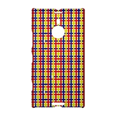 Yellow Blue Red Lines Color Pattern Nokia Lumia 1520