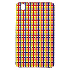 Yellow Blue Red Lines Color Pattern Samsung Galaxy Tab Pro 8.4 Hardshell Case