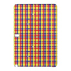 Yellow Blue Red Lines Color Pattern Samsung Galaxy Tab Pro 12.2 Hardshell Case