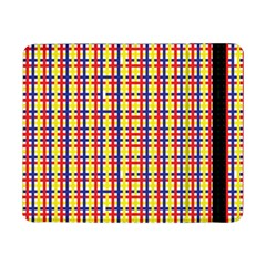 Yellow Blue Red Lines Color Pattern Samsung Galaxy Tab Pro 8.4  Flip Case