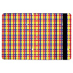 Yellow Blue Red Lines Color Pattern Ipad Air 2 Flip