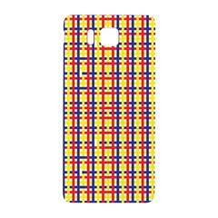 Yellow Blue Red Lines Color Pattern Samsung Galaxy Alpha Hardshell Back Case