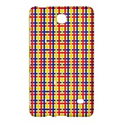 Yellow Blue Red Lines Color Pattern Samsung Galaxy Tab 4 (7 ) Hardshell Case