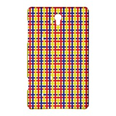 Yellow Blue Red Lines Color Pattern Samsung Galaxy Tab S (8 4 ) Hardshell Case